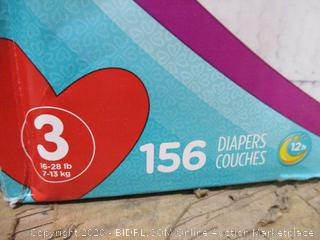 Pampers - Cruisers 360 Fit, Size 3 (156 Count)