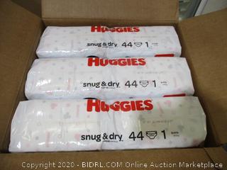 Huggies - Snug & Dry, Size 1 (264 Count)
