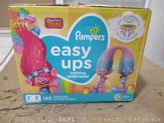 Pampers - Easy Ups Training Underwear, 2T-3T (140 Count, Sealed Bags)