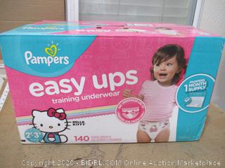 Pampers - Easy Ups Training Underwear, 2T-3T (140 Count)