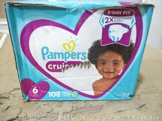 Pampers - Cruisers, Size 6 (108 Count, Sealed Bags)