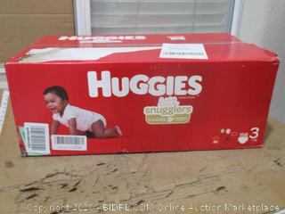 Huggies - Little Snugglers, Size 3 (156 Count, Sealed Box)