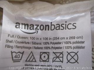 AmazonBasics - Comforter and 2 Pillow Cases (Full/Queen)