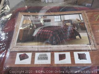 Complete Bedding Set - 8 Piece, Queen