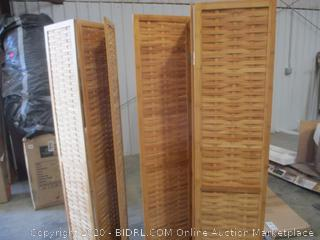 Household Essentials - Bamboo Screen (3 Panels)