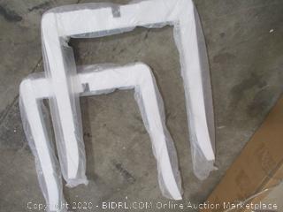 Whitman - 26 Inch Barstool (White)