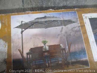 Destination Summer - Cantilever Umbrella (11 Ft)