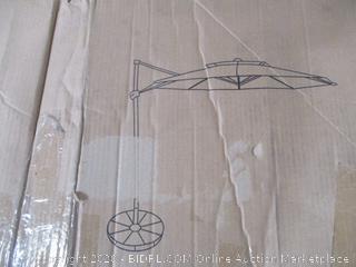 Patio Umbrella - Offset 11 Ft Round