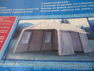 Steel Frame Canopy With Side Walls 10' x 20'