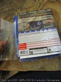 PS4 Metal Gear Survive