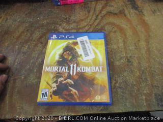 PS4 Mortal ll Kombat