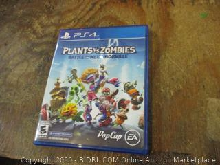 PS4 Plants vs Zombies