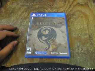 PS4 The Elder Scrolls Online Elsweyr