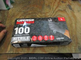 Size Large Nitrile Gloves