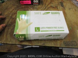 Latex Powder Free Gloves Size Large
