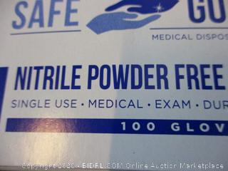 Nitrile Exam Gloves Size L