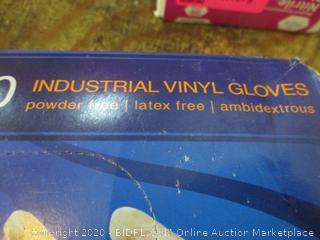 Industrial Vinyl Gloves Size XL