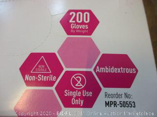 Powder Free - Non Sterile Nitrile Gloves Size Small