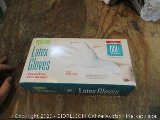 Powder Free Extra Strength Latex Gloves Large