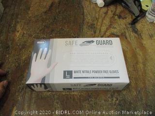 Nitrile Powder Free Gloves Size L
