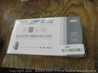 Nitrile Powder Free Gloves Size M