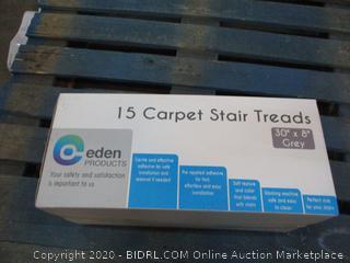 15 Carpet Stair Treads