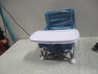 Child Seat with tray , dirty