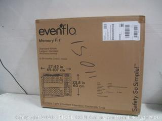 Evenflo Memory Fit  gate