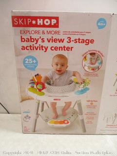 Skip * Hop Baby's View 3-Stage Activity Center