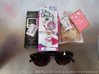 Misc. Lot Sunglasses, Brow Powder