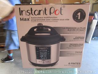 Instant Pot Max