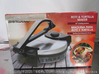 Brentwood Tortilla Maker