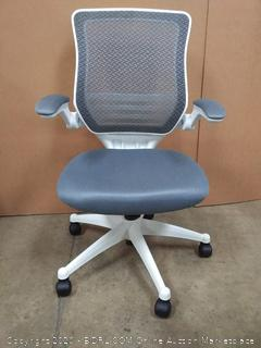 Modway Edge White Base Office Chair