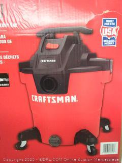 Craftsman 16 gallon wet dry vac(powers on)