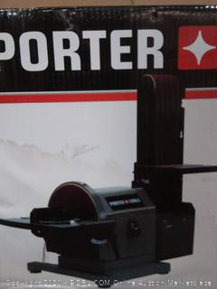 Porter-Cable 4 x 8 in 5 amp Belt Disc Sander(powers on)