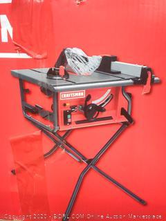 Craftsman 15 amp table saw