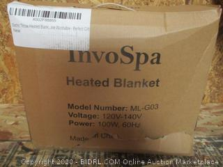 InvoSpa Heated Blanket