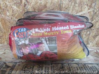 Car Cozy2 18-Volt Heated Blanket w/ Safety Timer