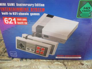Mini Game Anniversary Edition Entertainment System Built-In 621 Classic Games