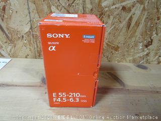 Sony SEL55210 Lens