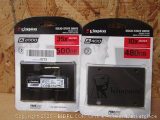 Kingston Technology Solid-State Drive Disque Flash