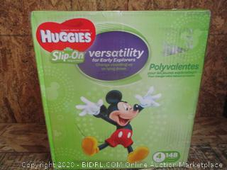 Huggies Slip-On Diapers Size 4