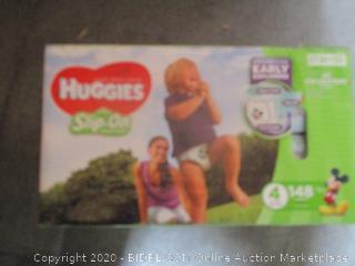 Huggies Slip On Diapers Size 4
