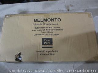 Belmonto Foldable Storage Bench