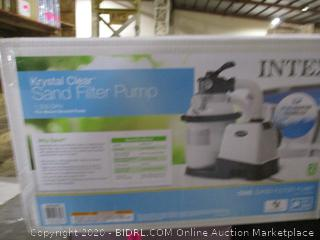 Intex Krystal Clear Sand Filter Pump