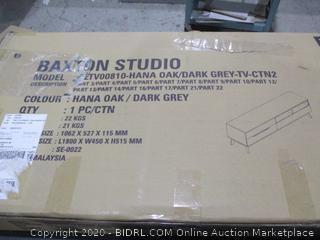 Baxton Studio  TV Stand  Ctn2