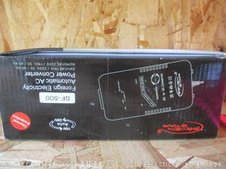 Foreign Electricity Automatic AV Power Converter