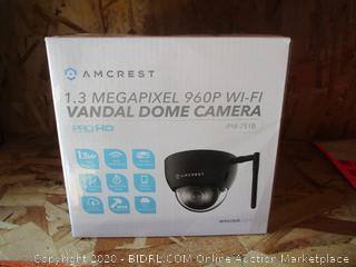 1.3 Megapixel 960P Wi-Fi Vandal Dome Camera