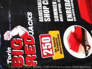 Torin Big Red Shop Creeper w/ Adjustable Headrest