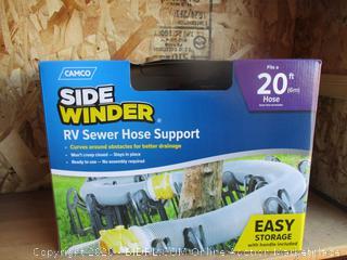Side Winder RV Sewer Hose Support
